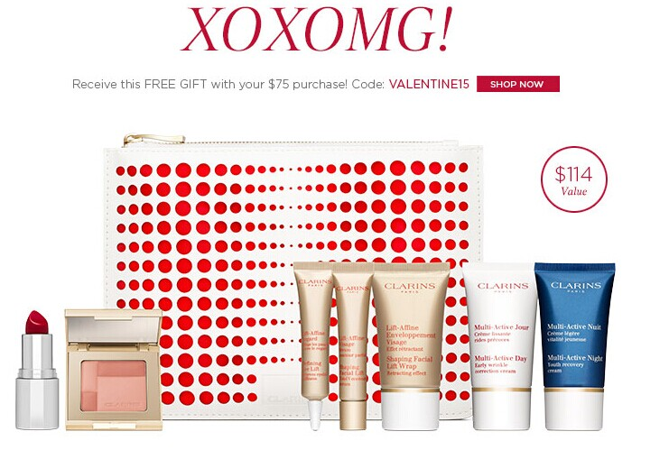 Get an 8pc Gift with order $75