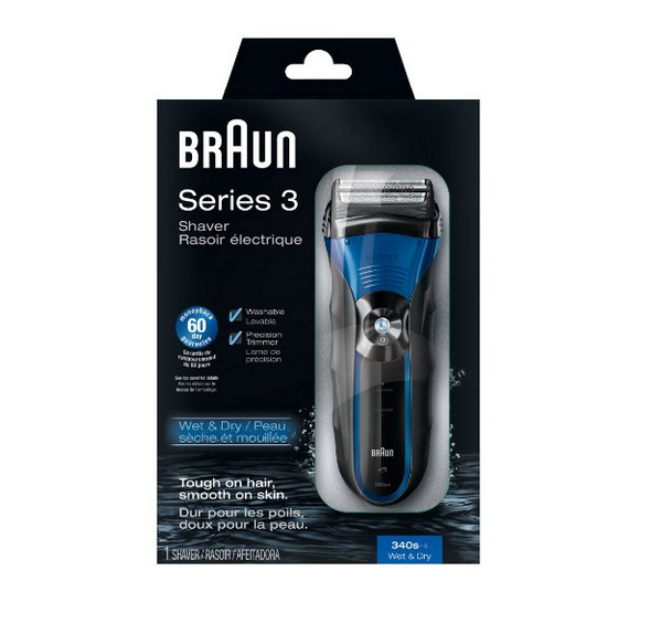 Braun Electric Shaver 39.95!