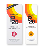 Save Over 30% On P20 Suncare