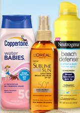 up to 20% off sun care items