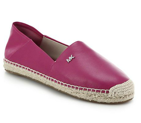 Leather Espadrilles Now $60