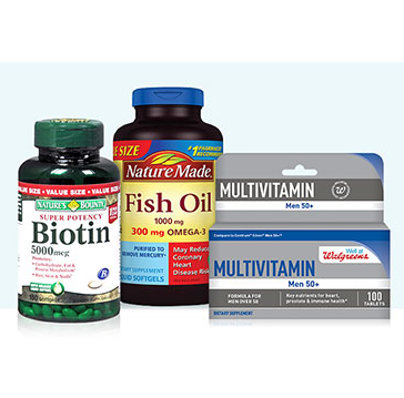 Get 20% OFF select Vitamins