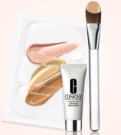 Free foundation brush