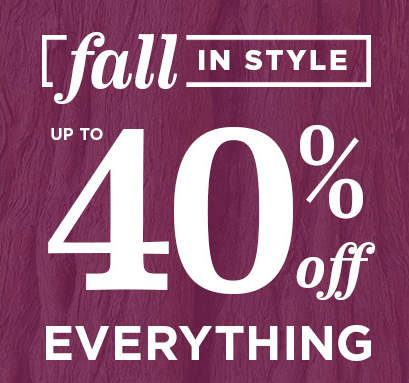 25% Off your Old Navy purchase