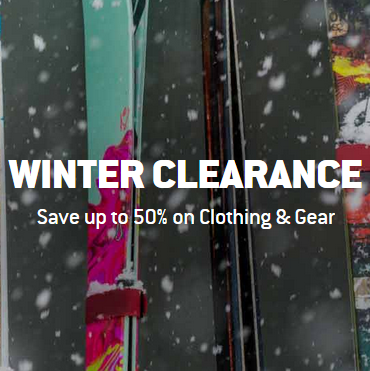 Winter Gear Sale-up to 50% off