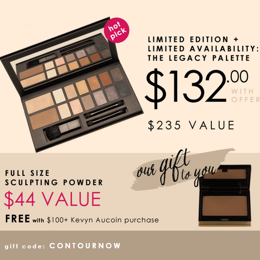 The Legacy Palette only $132