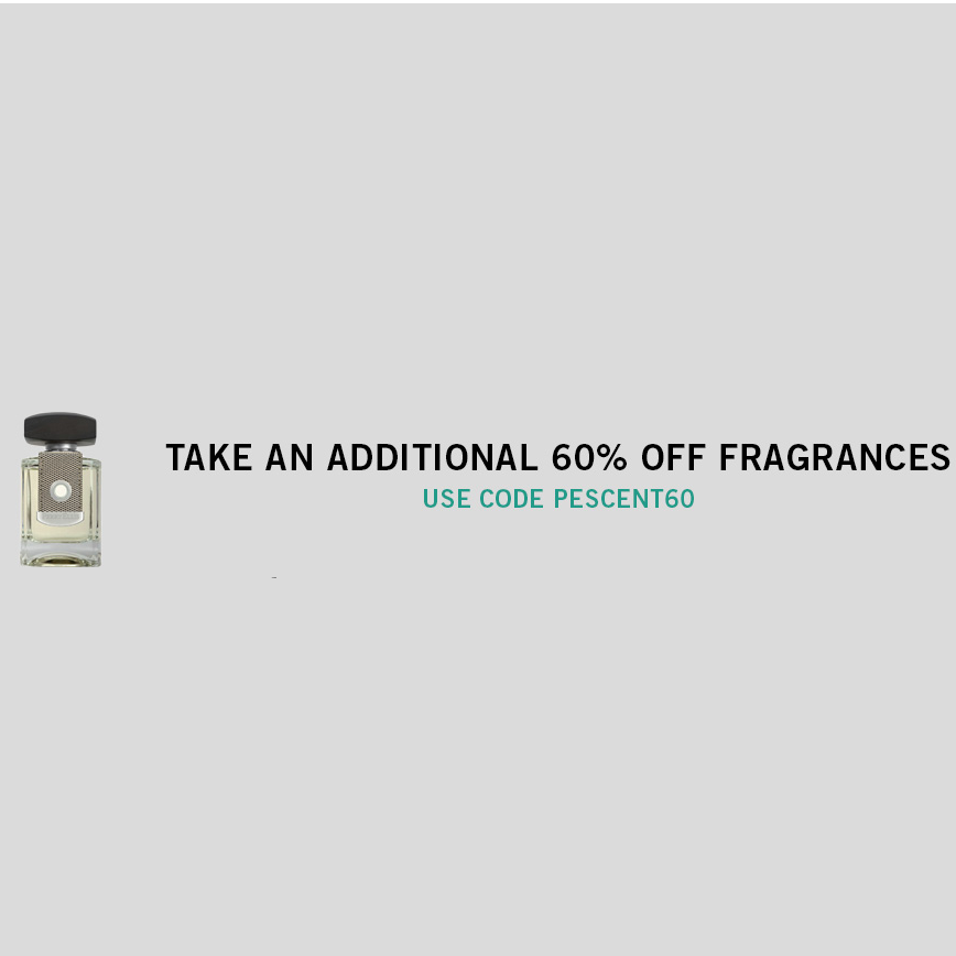 Additional 60% Off Fragrances