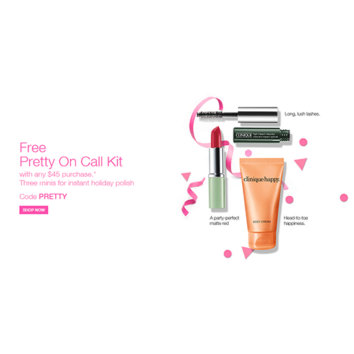 Free 'Pretty On Call' kit