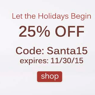 25% OFF &  FREE SHIPPING