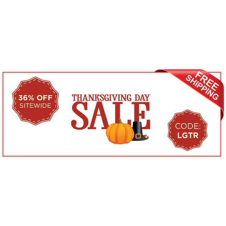 36% Off Plus Free Shipping
