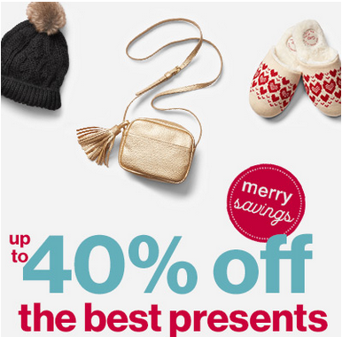 Up to 40% off the best present
