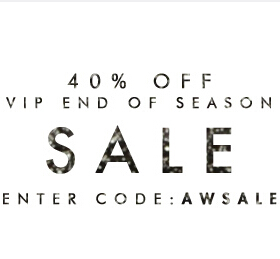40% off in the VIP End of Seas