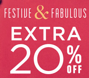 Extra 20% Off Your Order