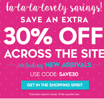 30% off site wide