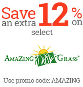 extra 15% on Amazing Grass