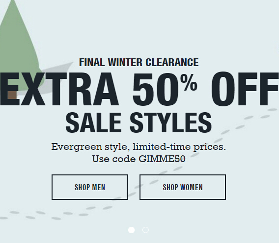 Get An Extra 50% Off All Sale