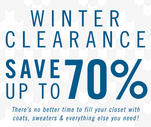 save up to 70% off clearance