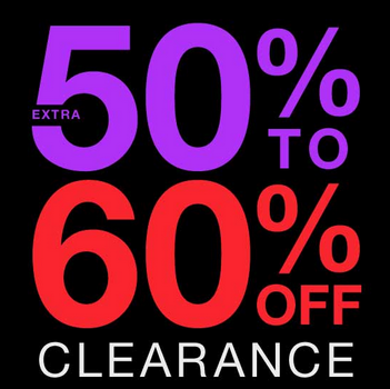 Take 30%-50% off Everything