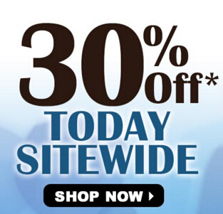 Save 30% Off Storewide