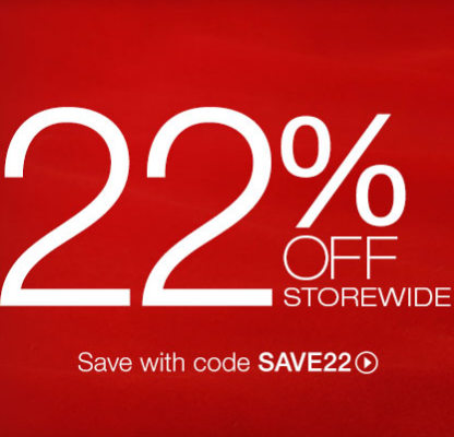 Save 22% with code SAVE22