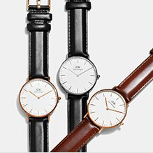 up to 50% off DW watches