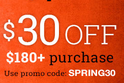 $5 Off $55, $15 off $100,