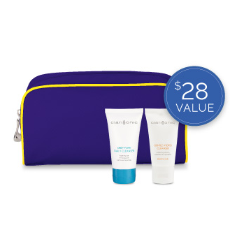 Receive a free beauty bag