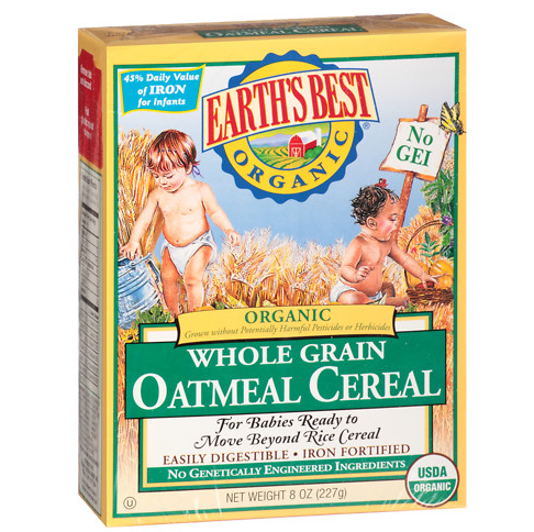 Whole Grain Oatmeal Cereal