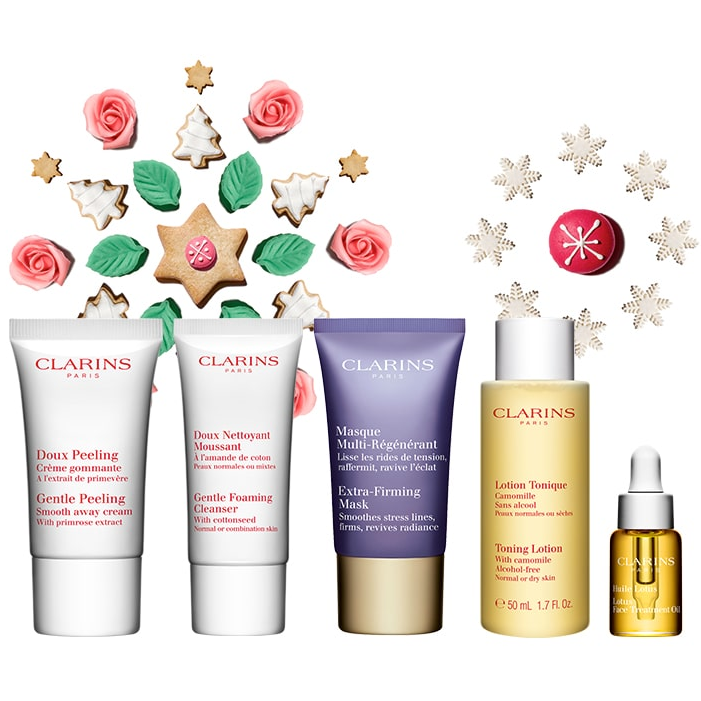 Get a 5pc Holiday Glow Gift