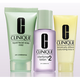 Clinique 3-Step Try all 3-Step