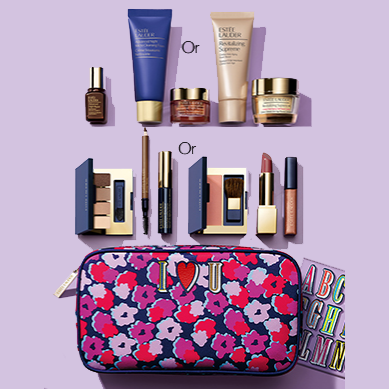 7-piece gift with any $35