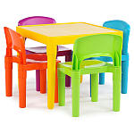 15% off play tables, chairs,