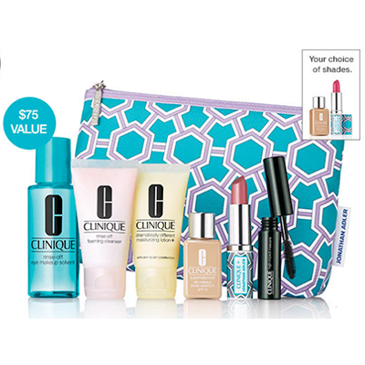 Free Clinique 8pc Gift