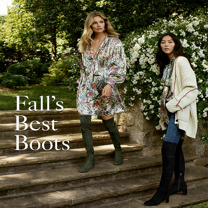 Just In Fall's Must-Have Boots
