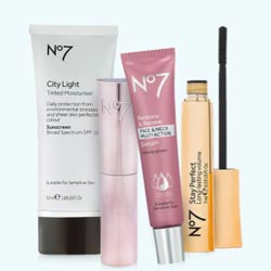 Buy 2 Get 3rd FREE on No7 Cosmetics