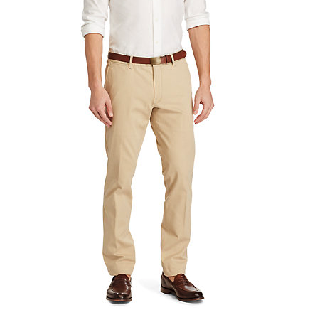 Slim Fit Cotton Twill Pant