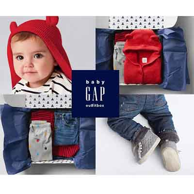 6 Pieces babyGap Outfit Box