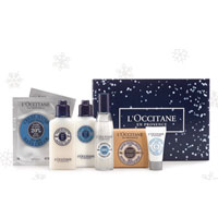 Free 8-Piece Shea Butter Body Gift with any $65 Purchase