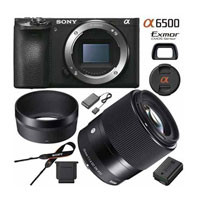 Sony a6500 4K Mirrorless Camera (Body) with Sigma Lens $1459
