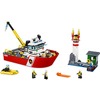 LEGO City: Fire Boat (60109)-£45