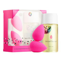 2 FREE beautyblender trial size items with $25