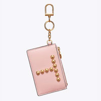 Tory Burch Monogram card case key fob on sale only $29