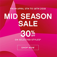 30% OFF on Selected Styles