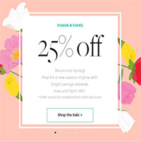 Friends & Family: Bloom into Spring! 25% OFF Sitewide