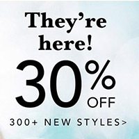 30% OFF + $25 OFF $100