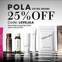 POLA IS HERE: 25% OFF ENTIRE BRAND