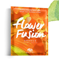 Free Flower Fusion sheet mask with of $45