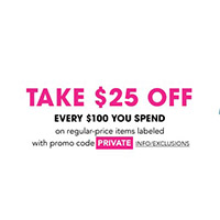 $25 OFF Every $100
