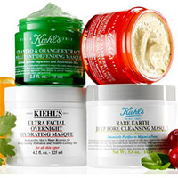 20% OFF + Free Kiehl's Skincare Pouch with $125