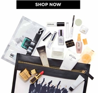 Free Pouch of Deluxe-Sized Sample with $275+ Beauty Purchase